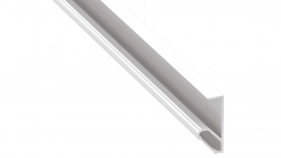 Lumines profile type Q18 lacquered white 1 m