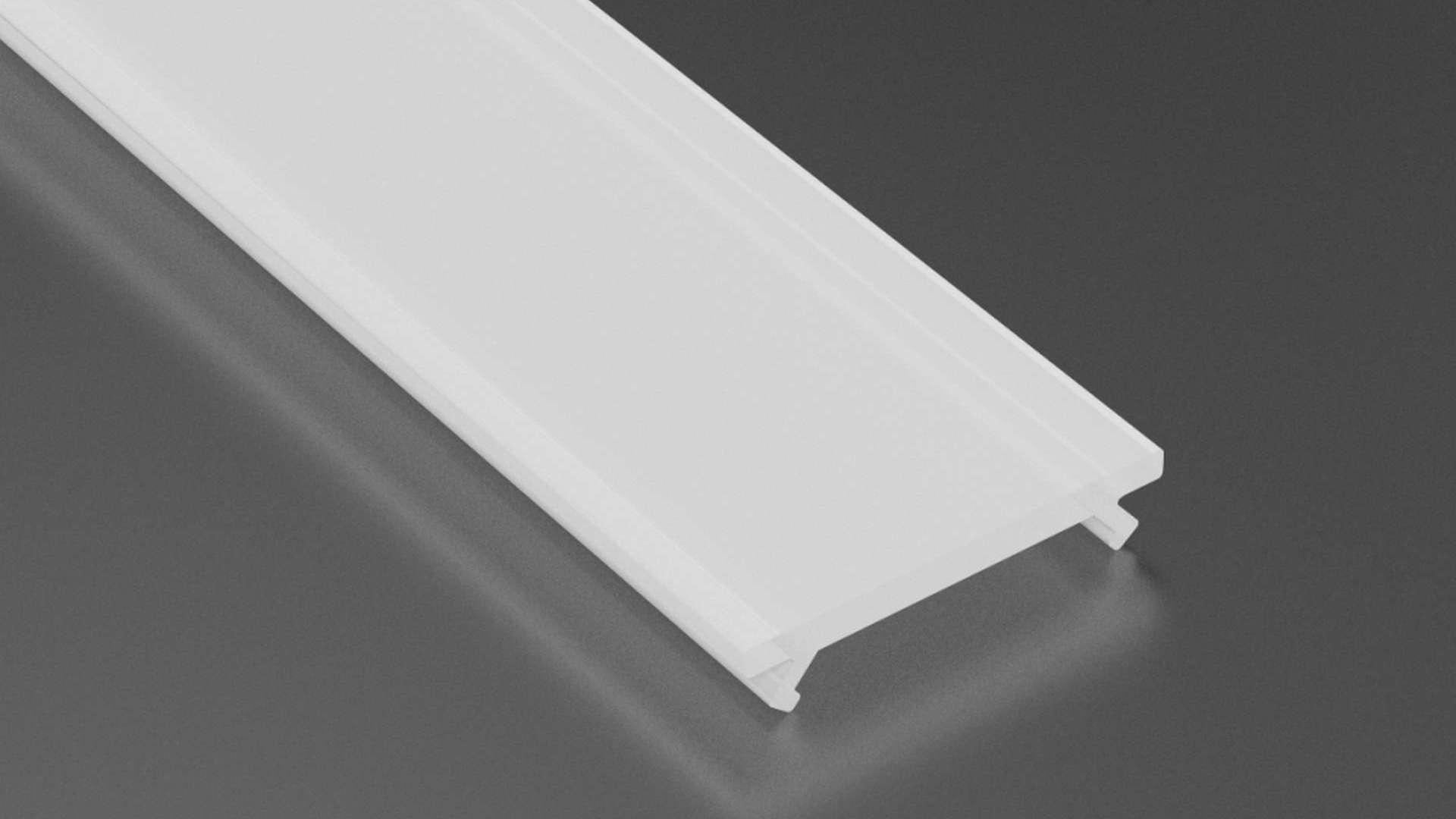 LUMINES BASIC cover PC milky 1 m