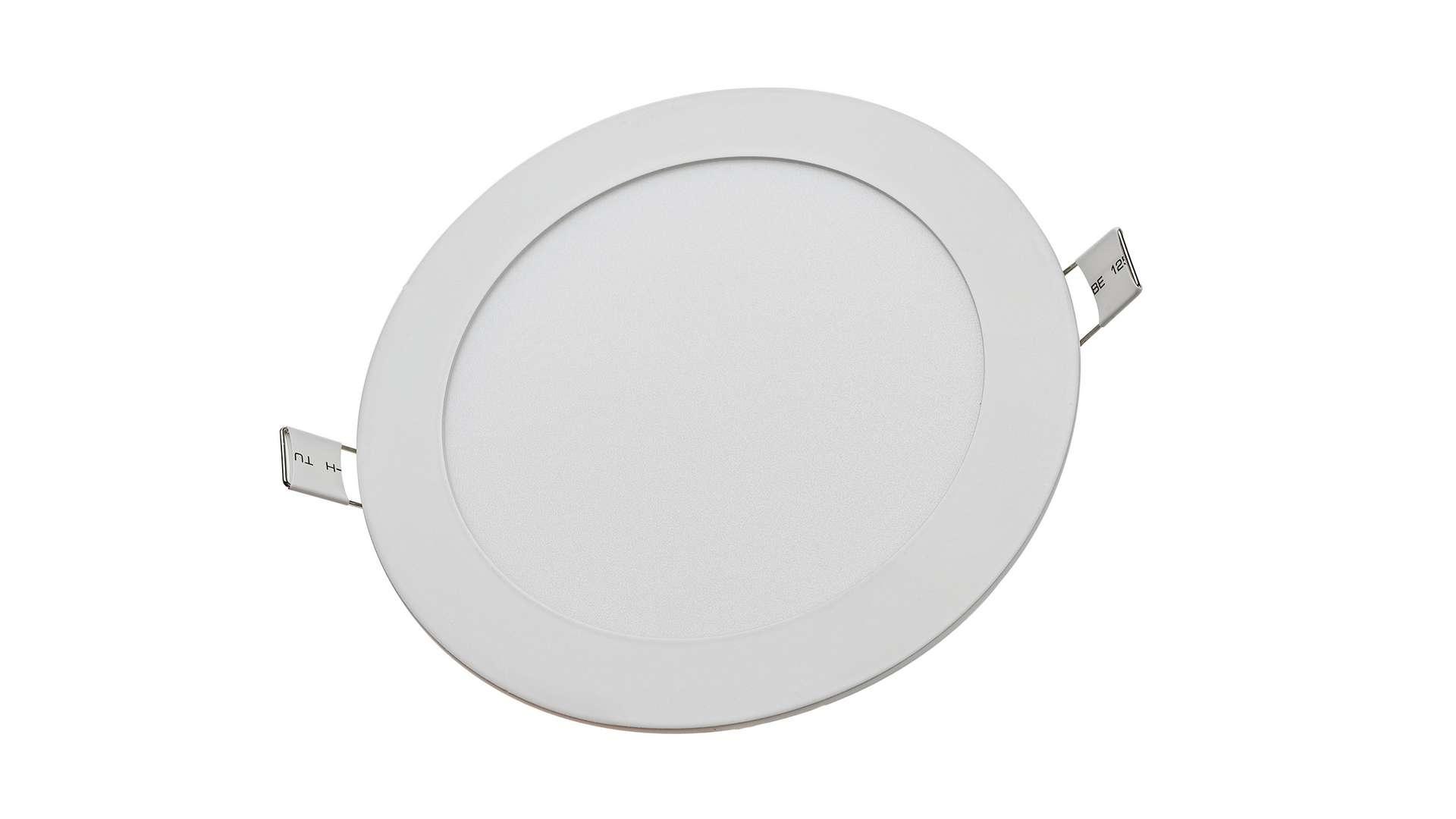 LED Panel 12W round neutral white