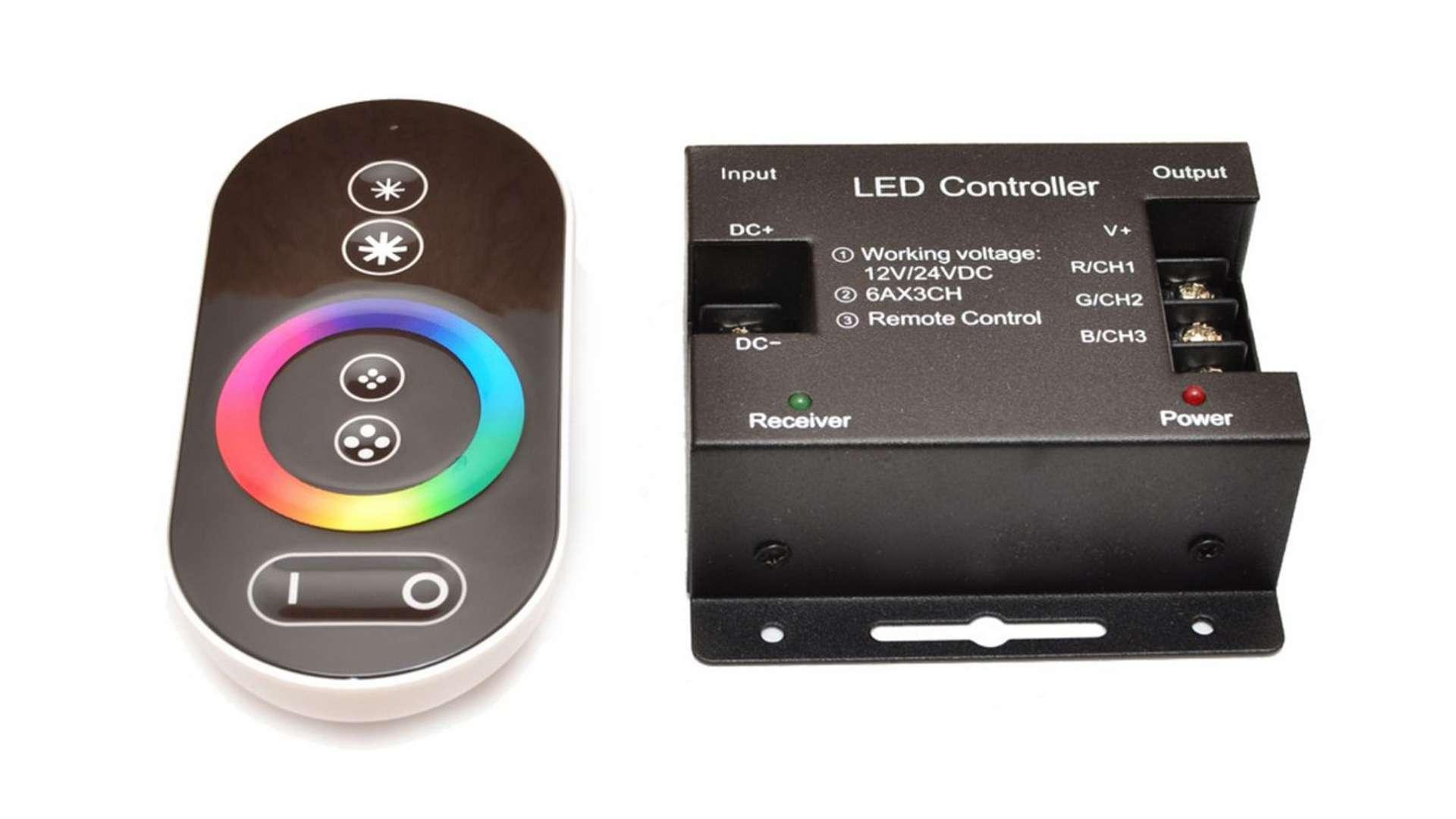RGB controller 12V 216W RF touch