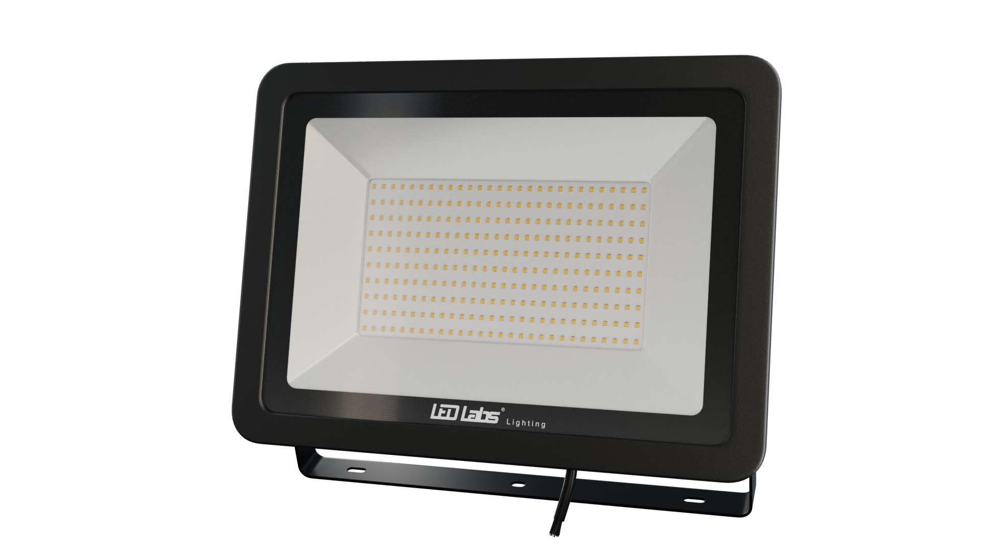 LED Floodligh 3Y 200W Neutral white SMD IP65 SLIM, black