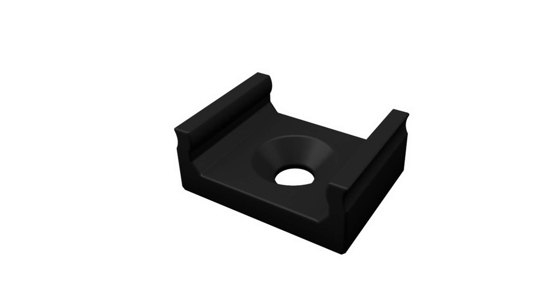 LUMINES Mounting clip A MINI black