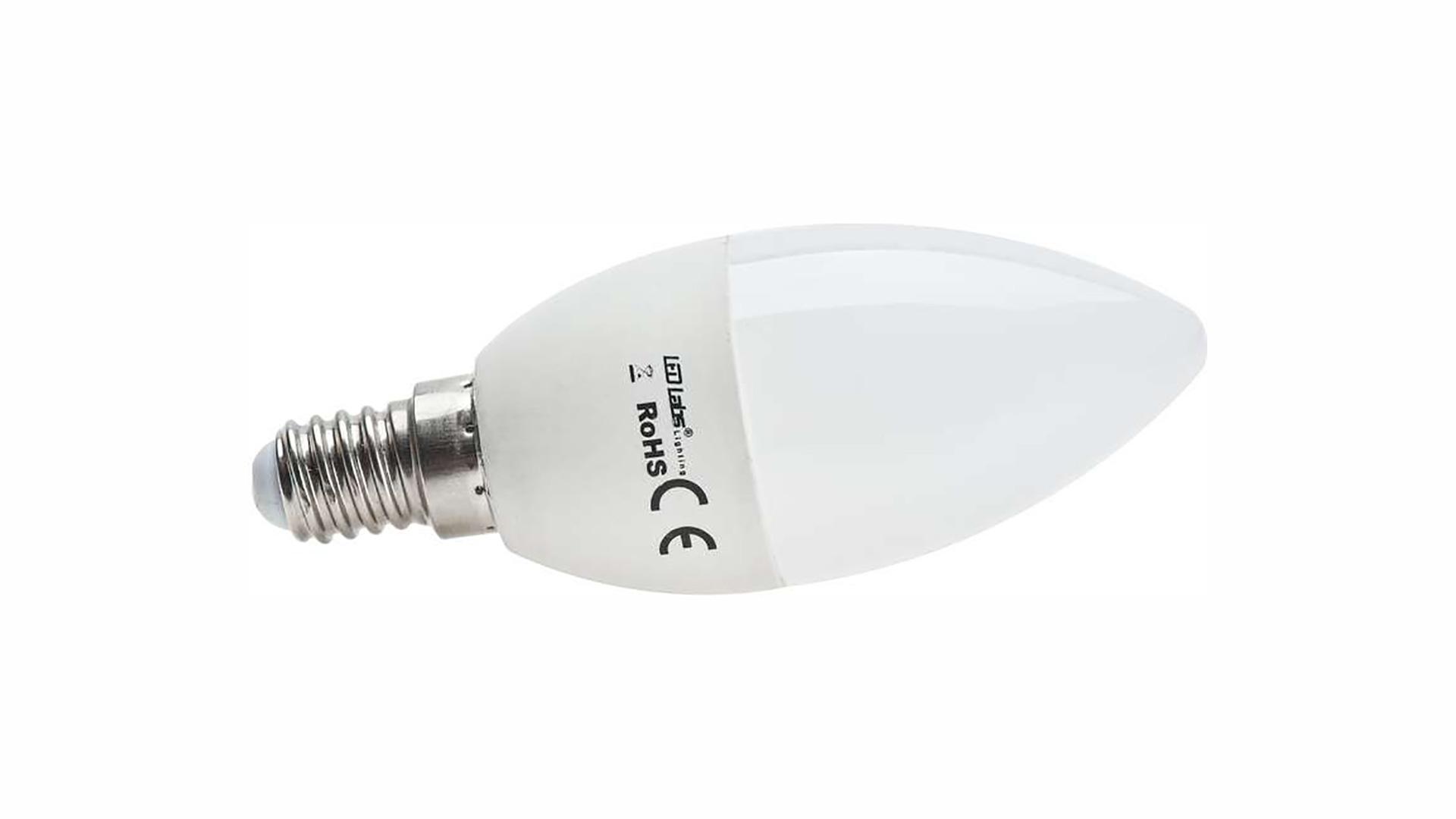 LED source E14 7W C37 Neutral white