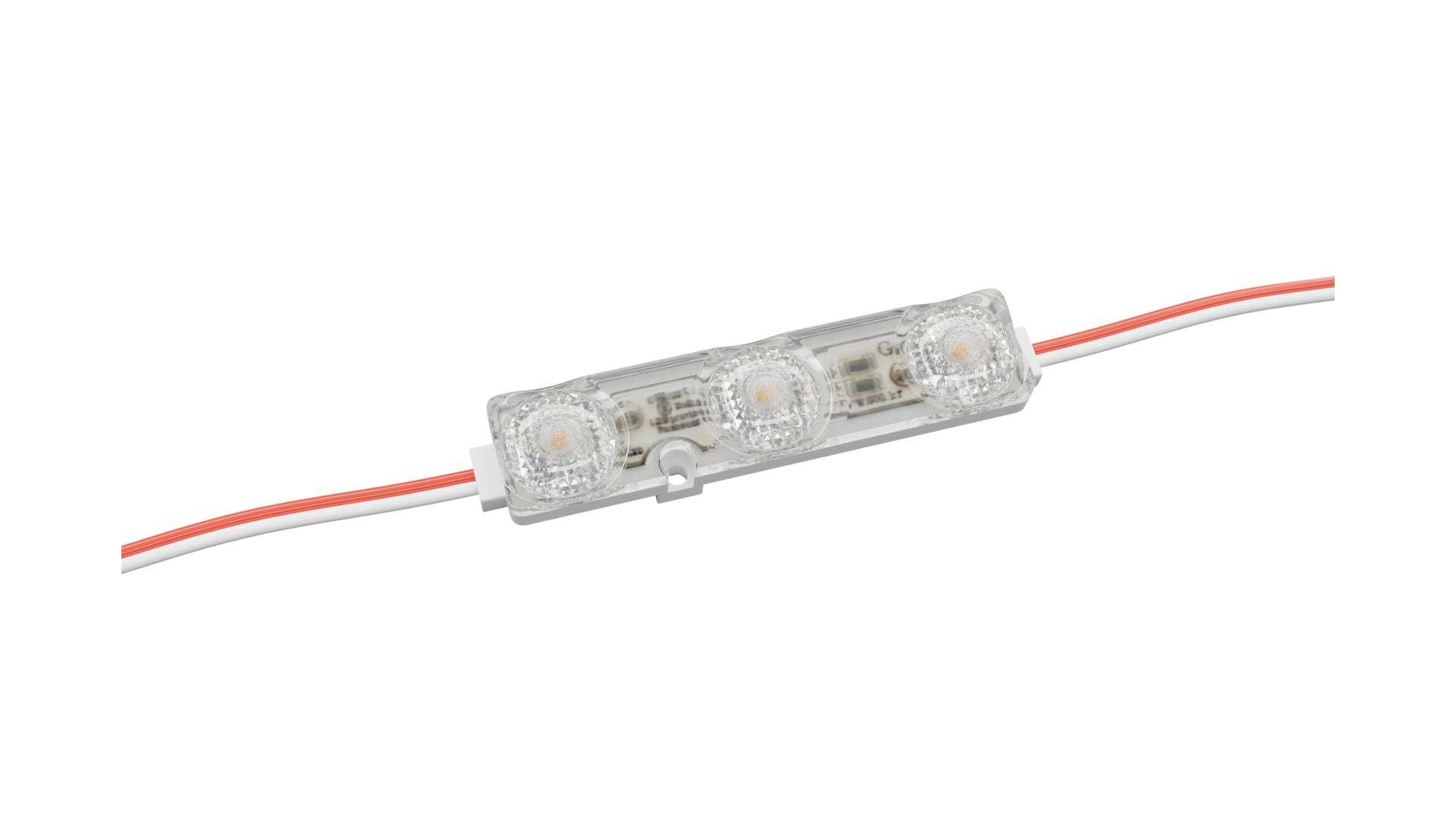 LED Module GOQ SAMSUNG 3x2835SMD 1.08W 175 degrees 3000K