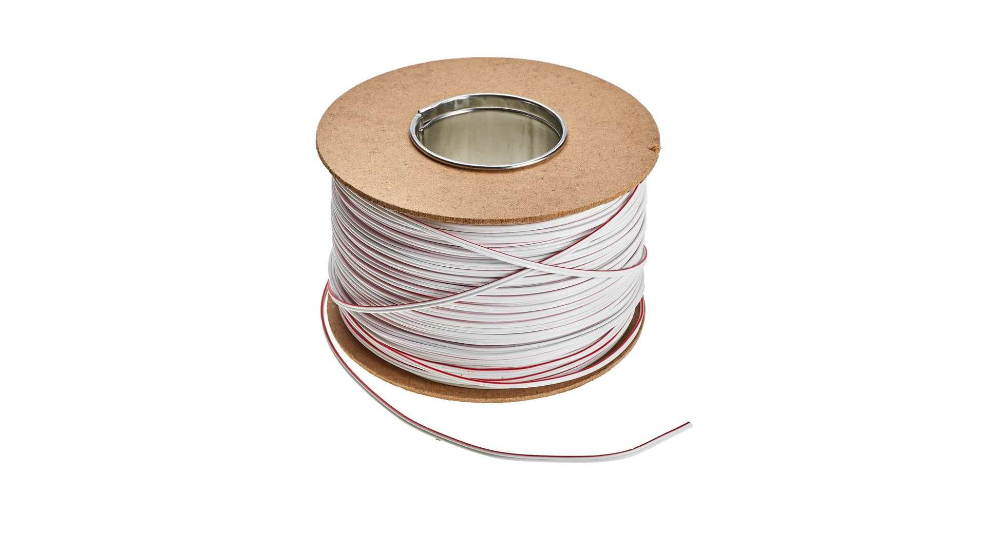 TLGYp cable 2x0,35 mm2 white