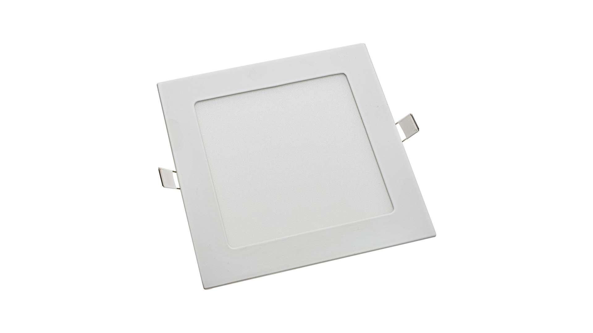 LED Panel 12W square neutral white