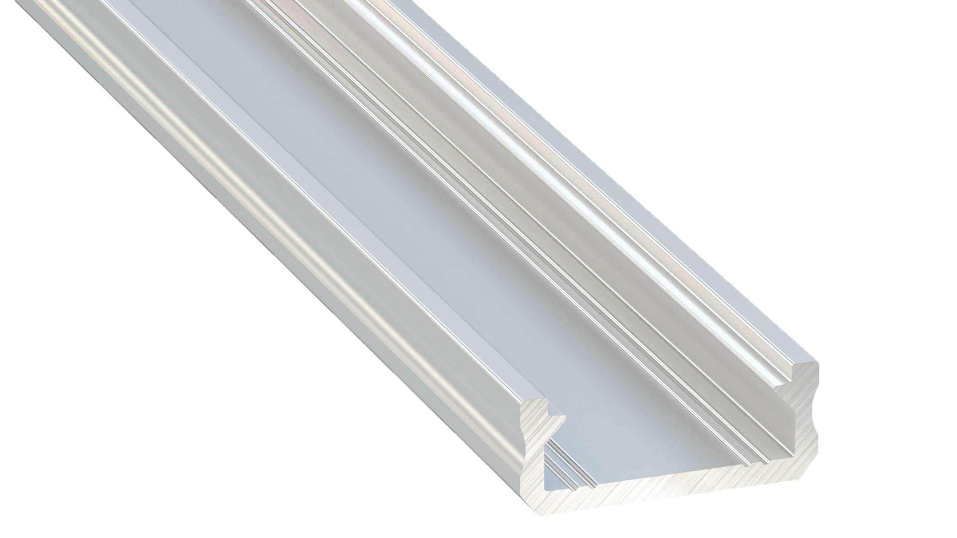 Lumines profile type D nonanodized, 2,02 m