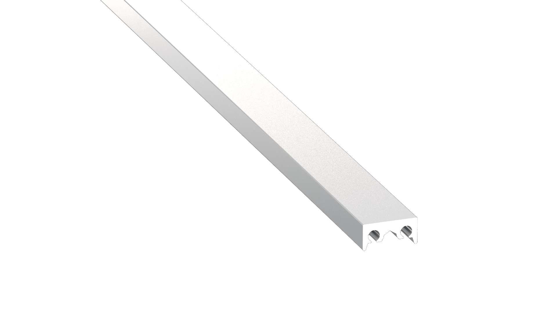 Lumines profile type M1 Cosmo anodized silver, 1 m