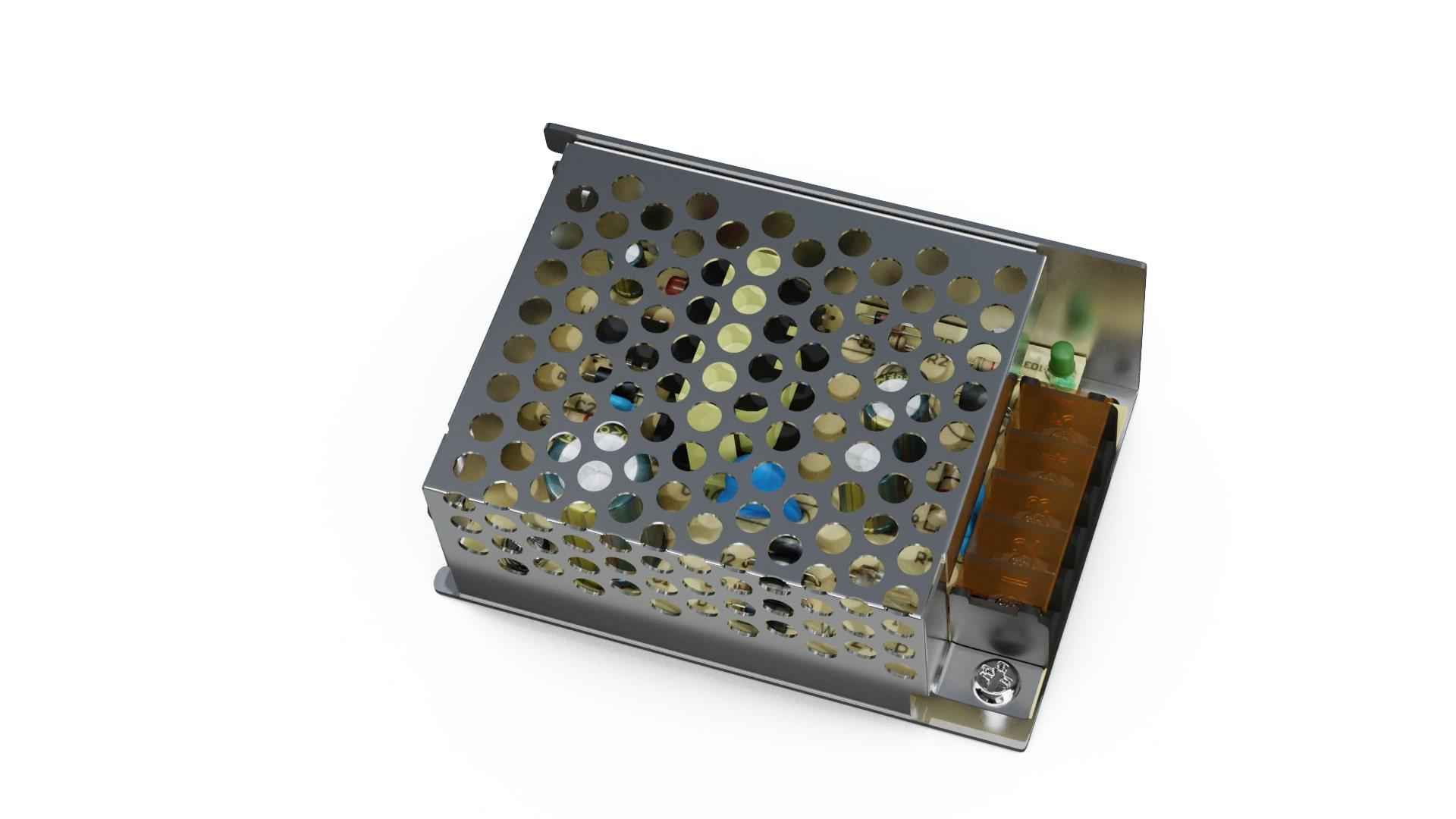 12V 25W IP20 enclosed power supply