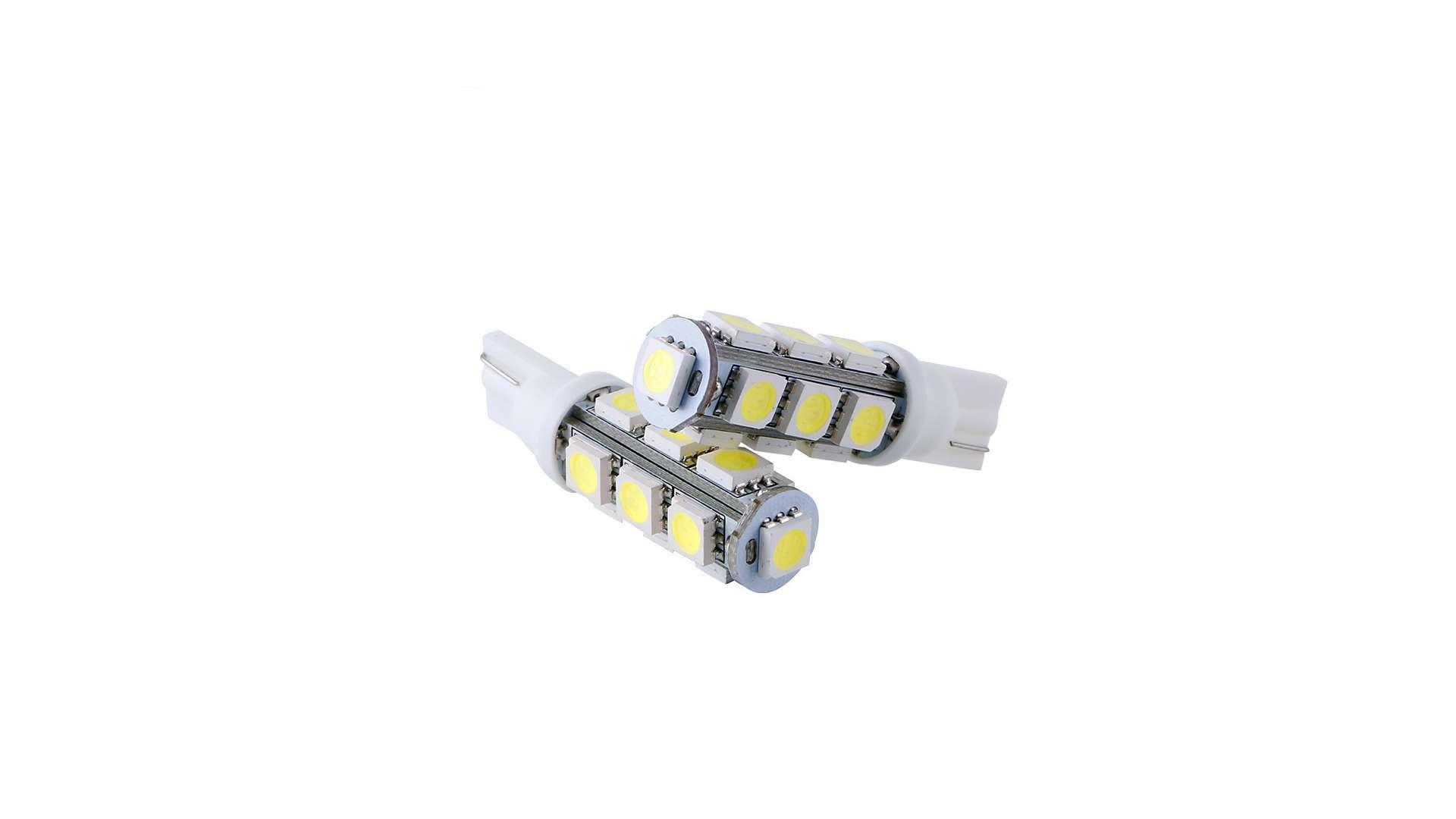 LED LED W5W 13x5050 SMD 12V DC Cold white