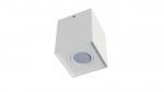 Ceiling spotlight fixture SPOT BERGEN square white