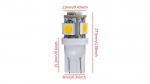 LED LED W5W 5x5050 SMD 12V DC Cold white