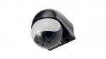 180 ° PIR motion sensor IP44 230V - black 09B7