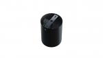 Ceiling spotlight fixture SPOT TUBE round black