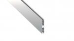 Lumines profile type Metro anodized silver, 1 m