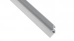 Lumines profile type Fari anodized silver, 1 m
