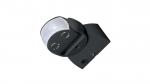 180 ° PIR motion sensor IP65 230V - black 11B7
